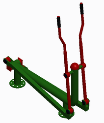 Manual Elliptical Trainer