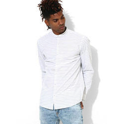 Mens Full Sleeve Striped Shirt