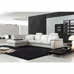Leather Lounge Sofa