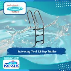 Swimming Pool SS Step Ladder