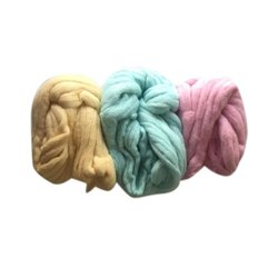 Colored Raw Cotton