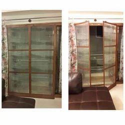 Mild Steel Mosquito Mesh Door, Size: 8 Feet X 4 Feet