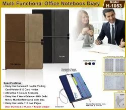 Multi-Function Notebook Diary H-1053