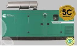 Water Cooling 250 KVA Cummins Silent Power Diesel Genset, 415