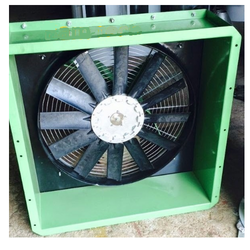 Cast Iron Axial Fans, 50 Kw