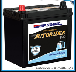 SF Sonic Autorider Battery