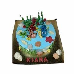 Remarkable Customized Birthday Cake At Rs 1600 Kilogram Cake Id 8968474648 Funny Birthday Cards Online Benoljebrpdamsfinfo