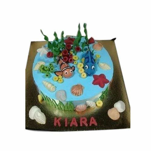 Wondrous Customized Birthday Cake At Rs 1600 Kilogram Cake Id 8968474648 Birthday Cards Printable Giouspongecafe Filternl