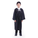 Black Cotton Lawyer Kids Costume