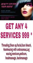 Women Manicure Pedicure Service