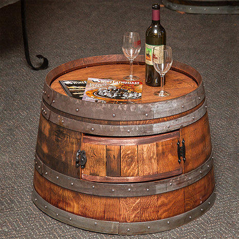 Wine Barrel Coffee Table.Natural Reclaimed Half Wine Barrel Coffee Table Id 18330969997