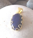 Natural Lapis Pendant