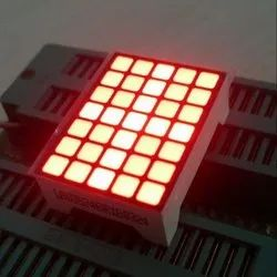 1 Inch 5x7 Square Dot Matrix Display