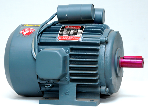 Electric Motor Single Phase Induction Motor Manufacturer From Rajkot
