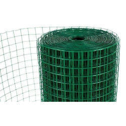 PVC Coated Welded Wire Mesh, For Industrial