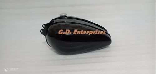 Fit For BSA Bantam D1 D3 Steel Glossy Black Painted Fuel Tank With Cap