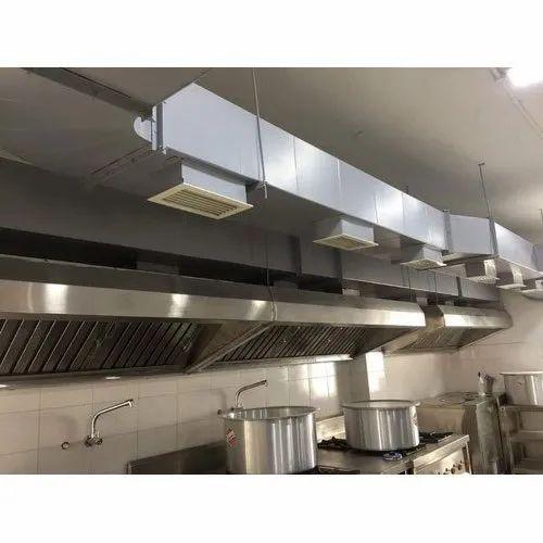 Restaurant Kitchen Exhaust Duct