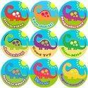 Multicolor Printed Sticker