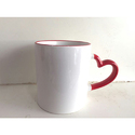 Heart Shape Ceramic Mugs