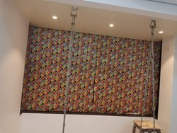Fabrics Motorised /Manual Roman Blinds