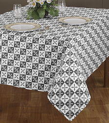 Single Printed Tablecloth