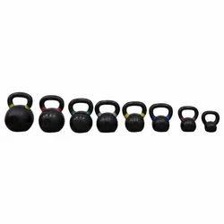 Crossfit Black Training Kettlebell, Cast Iron Black Premium Kettlebells, Weight - 4 Kg To 36 Kg