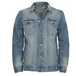 Medium Blue Men's Denim Jacket
