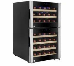 Wine Chiller 45 Bottle Dual Temperature WD 38