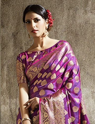 Designer Wedding Wear Heavy Saree, Length: 6.3 m (With Blouse Piece)
