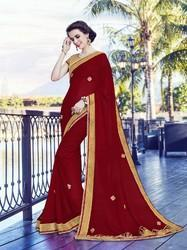 Reception Wear Georgette Saree