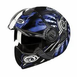 Studds Downtown D1 Decor 570 mm Flip Off Full Face Helmet