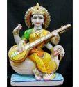 Marble Saraswati Moorti