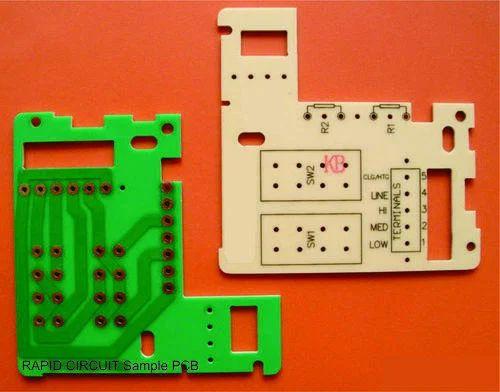 White Cem1 Printed Circuit Board