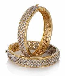 Konnect Box Wedding American Diamond Bangles