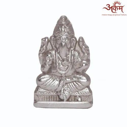 Arkam Parad Ganesh (42 grams) for Worship