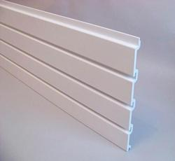 Aluminum Slatwall Display