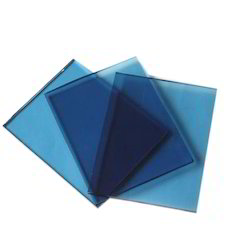 6mm Blue Reflective Glass
