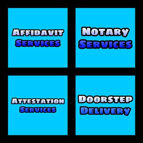 Notary Attestation Affidavit Agreement Service Mumbai, 499, Capacity: As Client Orders