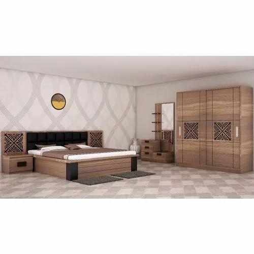 Modern Wooden Bed, Warranty: 3 Year