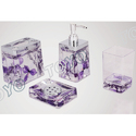 Attractive Acrylic Bath Set