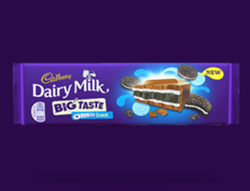 Cadbury Dairy Milk Big Taste Oreo Crunch Chocolate