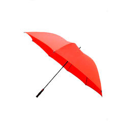 Orange Single Fold Umbrella