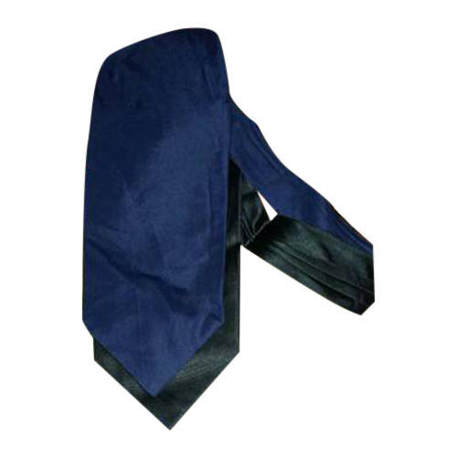 696fc97f612d Polyester Blue & Black Mens Plain Tie, Rs 130 /piece, Kambo Ties ...