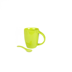Ceramic Spoon Coffee Mug