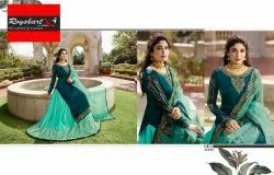 Chanderi Wedding Wear Ladies Churidar Suit