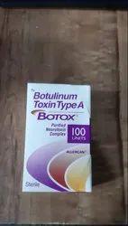 Botox Injection 100 IU.