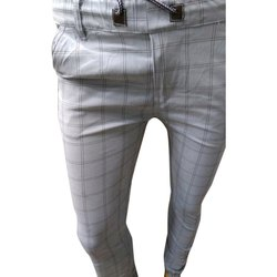 f84736e7def1 Men Mens Cotton Regular Fit Check Pants