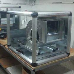 Cool Air Mild Steel Cabinet Inline Fan