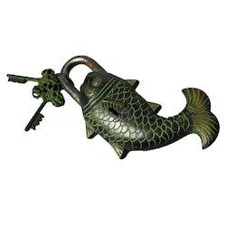 Brass Fish Lock