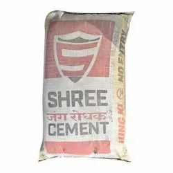 PPC (Pozzolana Portland Cement) Shree Cement, Packaging Size: 50kg